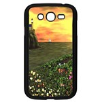 Eddie s Sunset Samsung Galaxy Grand DUOS I9082 Case (Black)