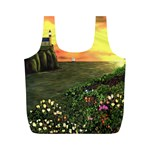 Eddie s Sunset Full Print Recycle Bag (M)