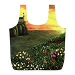 Eddie s Sunset Full Print Recycle Bag (L)