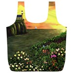 Eddie s Sunset Full Print Recycle Bag (XL)