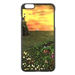 Eddie s Sunset iPhone 6 Plus/6S Plus Black Enamel Case