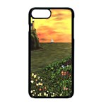 Eddie s Sunset iPhone 8 Plus Seamless Case (Black)
