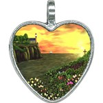 Eddie s Sunset Heart Necklace
