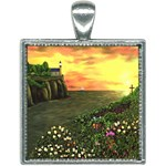 Eddie s Sunset Square Necklace