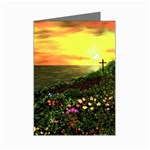 Eddie s Sunset  By Ave Hurley   Square (2) Eddie s Sunset By Ave Hurley   [stretched] Mini Greeting Cards (Pkg of 8)