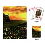 Eddie s Sunset  By Ave Hurley   Square (2) Eddie s Sunset By Ave Hurley   [stretched] Playing Cards Single Design (Rectangle)