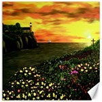 Eddie s Sunset  By Ave Hurley   Square (2) Eddie s Sunset By Ave Hurley   [stretched] Canvas 16  x 16