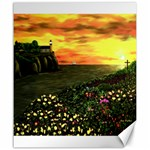 Eddie s Sunset  By Ave Hurley   Square (2) Eddie s Sunset By Ave Hurley   [stretched] Canvas 20  x 24