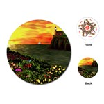 Eileen s Sunset Playing Cards Single Design (Round)