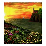 Eileen s Sunset Shower Curtain 66  x 72  (Large)