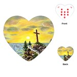 Souls Harbor By Ave Hurley  (1) Playing Cards Single Design (Heart)