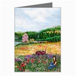 Katy s Pasture  Greeting Card