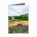 Katy s Pasture  Mini Greeting Card