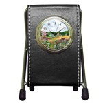Katy s Pasture  Pen Holder Desk Clock