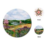 Katy s Pasture  Playing Cards Single Design (Round)