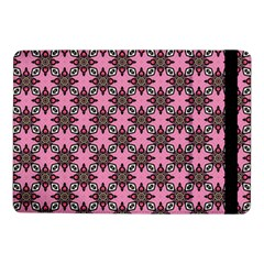 Purple Pattern Texture Samsung Galaxy Tab Pro 10 1  Flip Case by HermanTelo