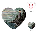 Masons s Point Playing Cards Single Design (Heart)