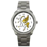 Pegasus Sport Metal Watch