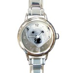 Fabulous Polar Bear Round Italian Charm Watch