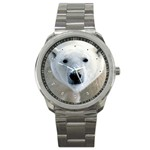 Fabulous Polar Bear Sport Metal Watch