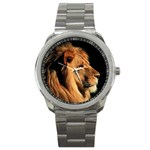 Elegant Lion Sport Metal Watch