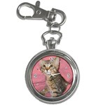 Adorable Kitten Key Chain Watch