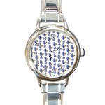 Seahorses Jewelry Round Italian Charm Watch