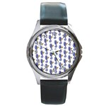 Seahorses Jewelry Round Metal Watch