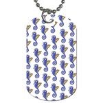Seahorses Jewelry Dog Tag (One Side)