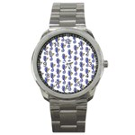 Seahorses Jewelry Sport Metal Watch