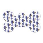 Seahorses Jewelry Dog Tag Bone (One Side)