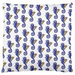 Seahorses Housewares Large Cushion Case (One Side)