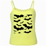 Deathrock Bats Yellow Spaghetti Tank