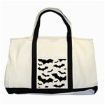 Deathrock Bats Two Tone Tote Bag