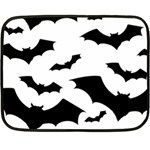 Deathrock Bats Double Sided Fleece Blanket (Mini)
