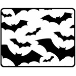 Deathrock Bats Fleece Blanket (Medium)
