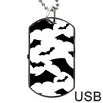 Deathrock Bats Dog Tag USB Flash (One Side)