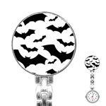 Deathrock Bats Stainless Steel Nurses Watch