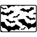 Deathrock Bats Double Sided Fleece Blanket (Large)