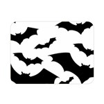 Deathrock Bats Double Sided Flano Blanket (Mini)