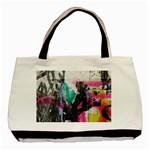 Graffiti Grunge Basic Tote Bag (Two Sides)