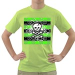 Deathrock Skull Green T-Shirt