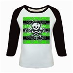 Deathrock Skull Kids  Baseball Jersey