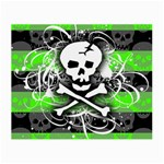 Deathrock Skull Small Glasses Cloth (2 Sides)