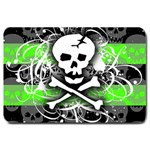 Deathrock Skull Large Doormat