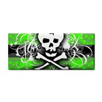 Deathrock Skull Hand Towel