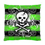 Deathrock Skull Standard Cushion Case (One Side)