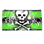 Deathrock Skull Pencil Case