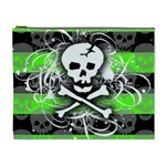 Deathrock Skull Cosmetic Bag (XL)