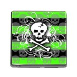 Deathrock Skull Memory Card Reader (Square 5 Slot)